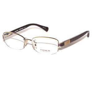 Coach Eyeglasses HC 5059 Kacey 9197 Gold/Chocolate